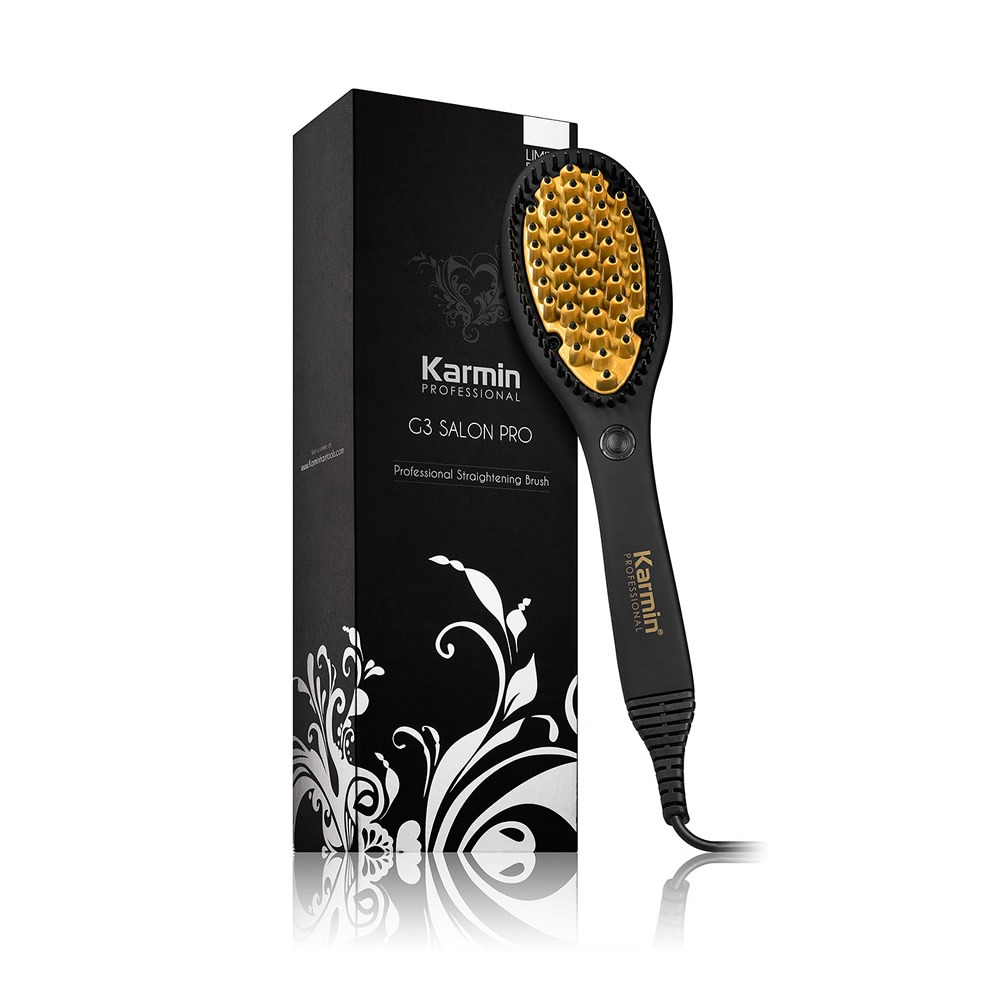 Karmin G3 Salon Pro Ceramic Hair Straightening Brush